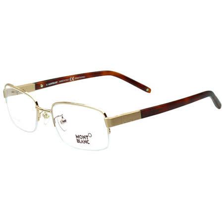 萬寶龍MONTBLANC-時尚光學眼鏡MB249(金色)