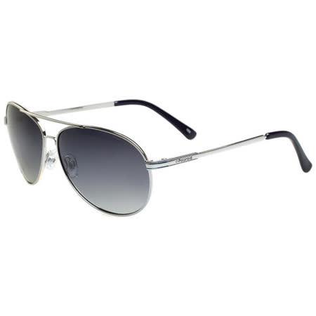 Polaroid 寶麗來-偏光太陽眼鏡(銀色)