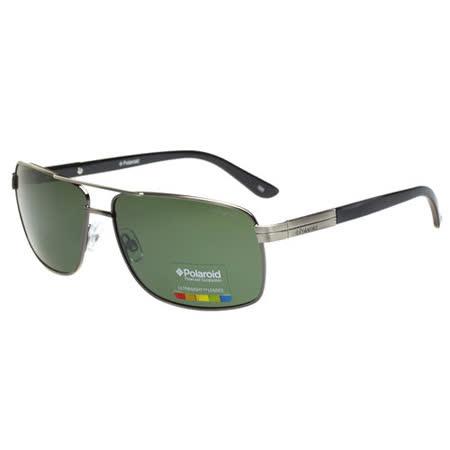 Polaroid 寶麗來-偏光太陽眼鏡(綠色鏡片)