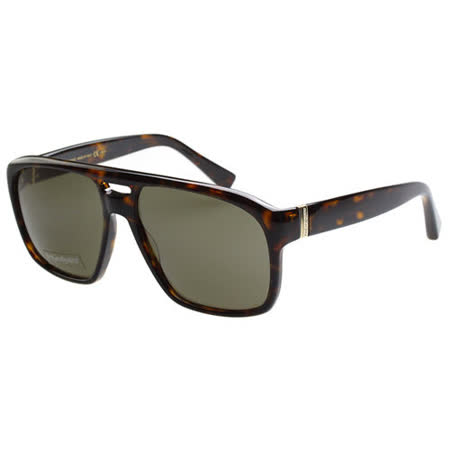YSL-時尚太陽眼鏡 (琥珀色)