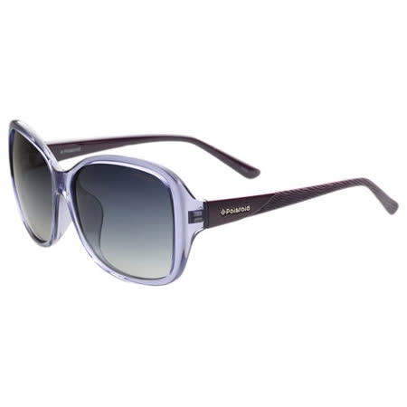 Polaroid 寶麗萊-偏光太陽眼鏡(透明紫)