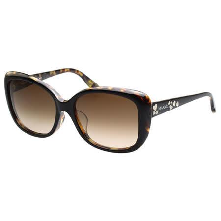 MAX&CO. 時尚太陽眼鏡 (琥珀色)