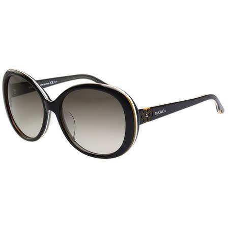 MAX&CO. 時尚太陽眼鏡(黑配咖啡)