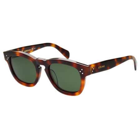 CELINE 時尚太陽眼鏡(琥珀色)