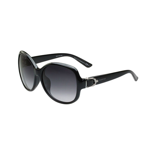 GUCCI-扣環系列 太陽眼鏡(黑色)