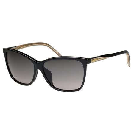 GUCCI 時尚太陽眼鏡(黑色)