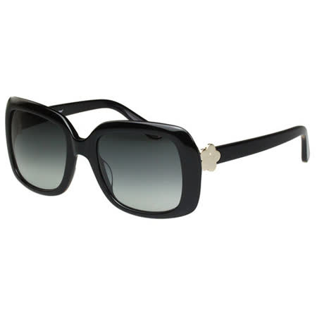 Juicy Couture 方形時尚 太陽眼鏡(黑色)