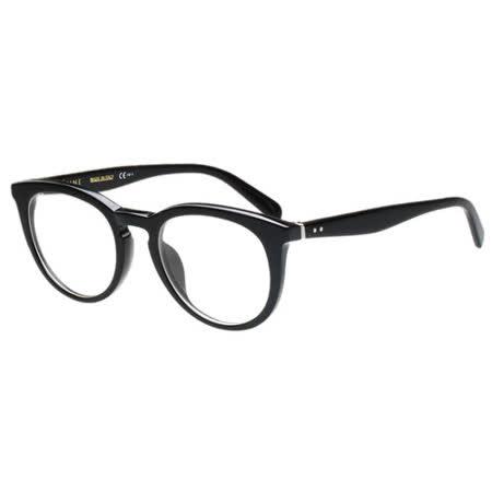 CELINE- 低調圓面復古 光學眼鏡 (黑色)