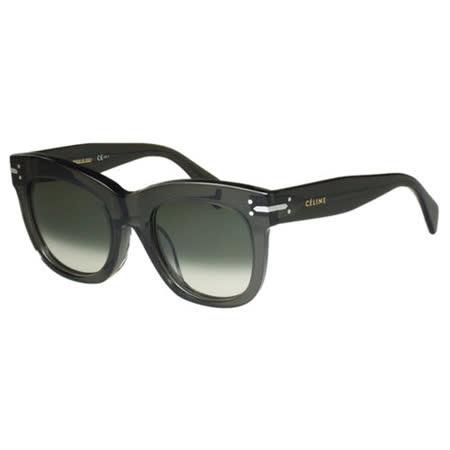 CELINE- 低調復古 太陽眼鏡 (灰黑色)