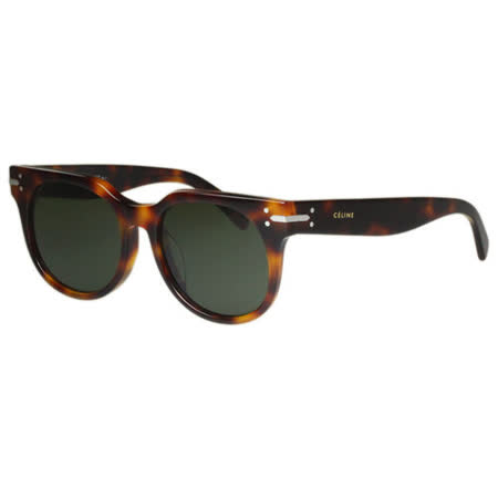CELINE- 低調復古 太陽眼鏡 (琥珀色)