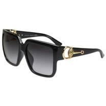 GUCCI- 時尚金球 太陽眼鏡 (黑色)