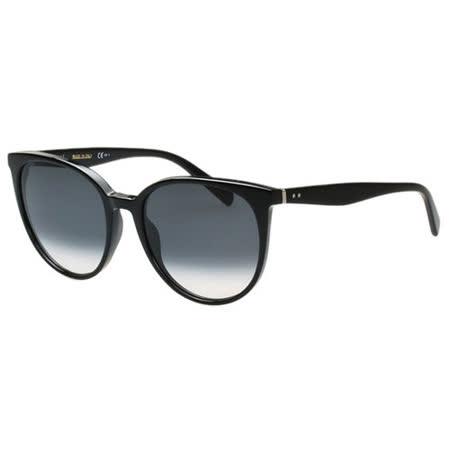 CELINE- 低調圓面復古 太陽眼鏡 (黑色)