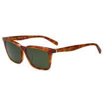 CELINE- 方形率性 太陽眼鏡 (琥珀色)