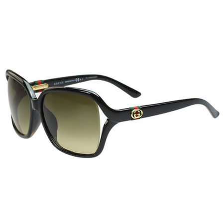 GUCCI-時尚太陽眼鏡(黑色)