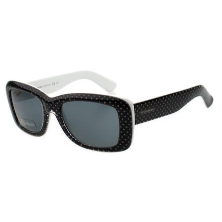 YSL 時尚太陽眼鏡 (黑色點點)