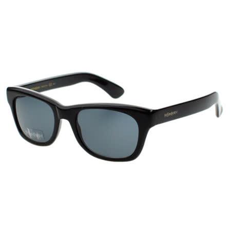 YSL 時尚太陽眼鏡 (黑色)