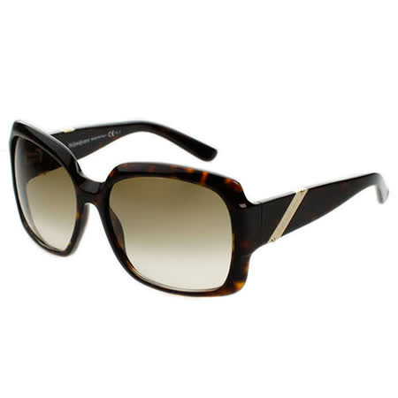 YSL 時尚太陽眼鏡 (琥珀色/黑色)