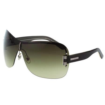 YSL-時尚太陽眼鏡(黑色/紅色)