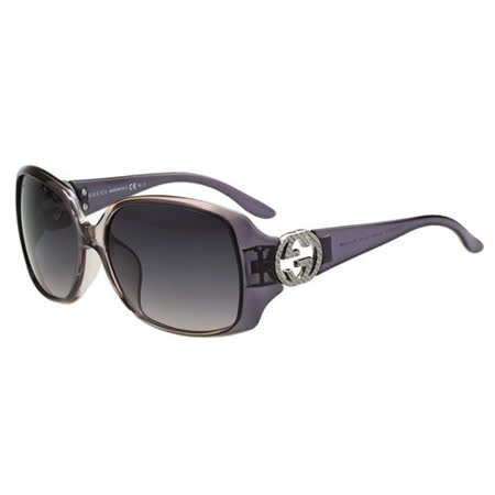 GUCCI-時尚太陽眼鏡(紫色)