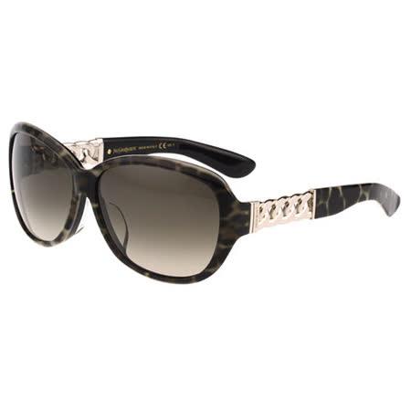 YSL-時尚太陽眼鏡(豹紋)