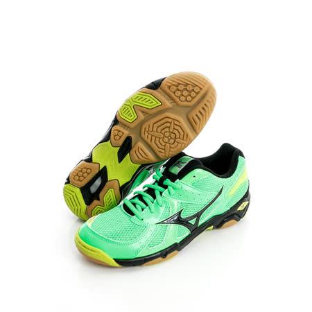 Mizuno 美津濃 (男)排羽球鞋-綠-V1GA157009