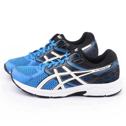 Asics 男款 GEL-CONTEND 3 慢跑鞋T5F4N-3901-藍黑