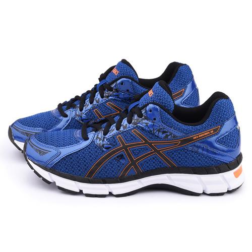Asics 男款 GEL-OBERON 10 慢跑鞋T5N1N-4290-深藍