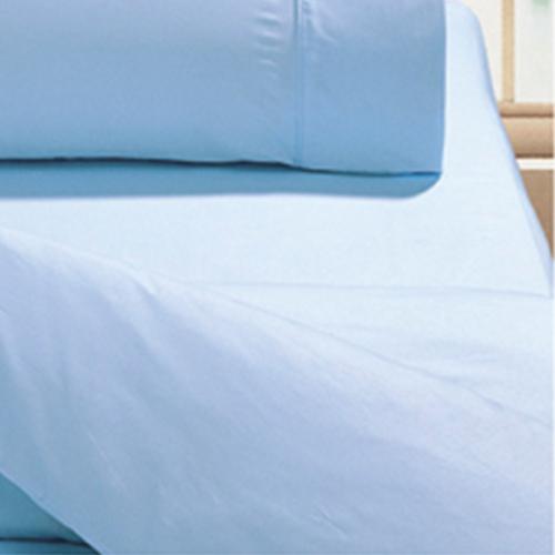 ~鴻宇HongYew~美國棉花日式元素海洋水藍~單人床包組