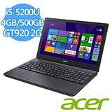 ACER EX2-511G-52HH (I5-5200U/4G/500G/15.6/W10) 筆記型電腦 送原廠清潔組+U型舒適頸枕