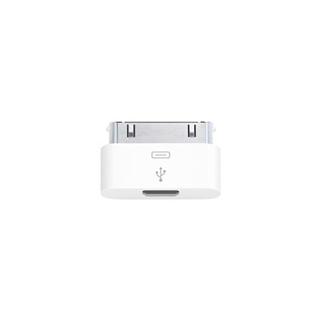 Apple 原廠Micro USB 對 30 pin轉接器 MD099 (裸裝)