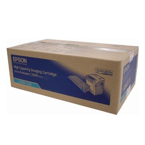 【EPSON 碳粉匣】 C13S051126 藍色 原廠碳粉AL-C3800