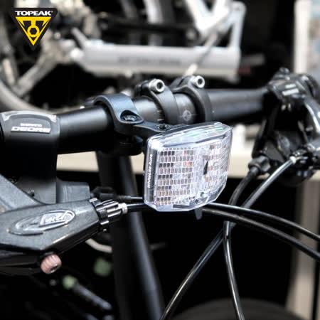 【TOPEAK】 WhiteLite Aura_反光片型警示前燈