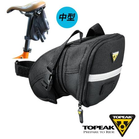 TOPEAK Aero Wedge Pack Medium後座墊袋(中型)_黑