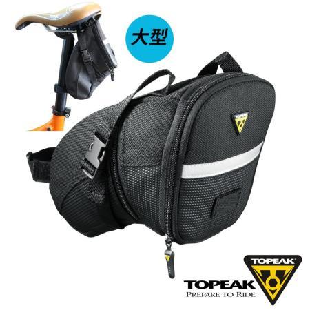 TOPEAK Aero Wedge Pack Large後座墊袋(大型)_黑