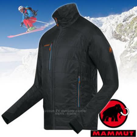 【瑞士 MAMMUT 長毛象】男新款 Eigerjoch Pro IS Jacket 超輕型防風保暖外套/Pertex.PrimaLoft Gold 保暖混紡/18370-0001 黑