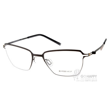 VYCOZ眼鏡 薄鋼 簡約小方框款(質感黑) #TOMS BLKBK