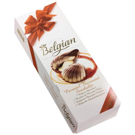 Belgian‧白儷人焦糖貝殼巧克力