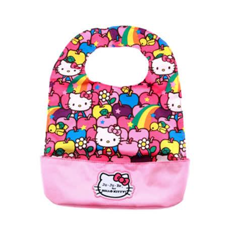 【美國Ju-Ju-Be媽咪包】HelloKitty聯名款BeNeat雙面防潑水嬰兒圍兜-Lucky Stars 幸運之星