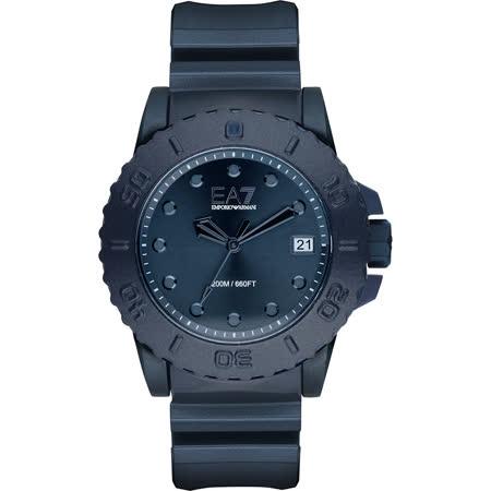 Emporio Armani EA7 奧運/世界盃愛用系列錶-藍/46mm AR6083