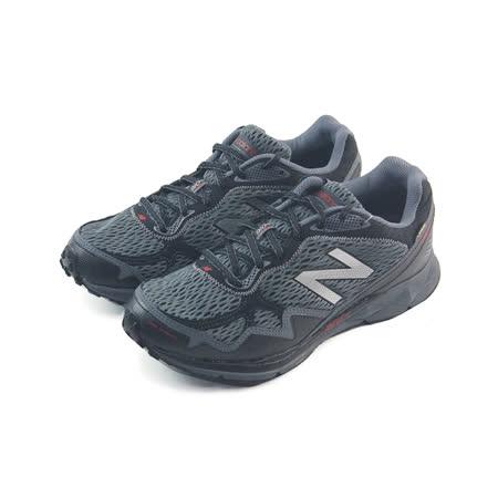 (男)NEW BALANCE 慢跑鞋 黑灰-MT910GX2