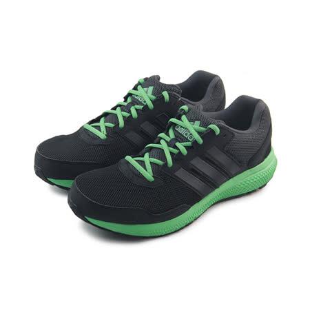 (男)ADIDAS OZWEEGO BOUNCE CUSHION M 慢跑鞋 黑/綠-AF6270
