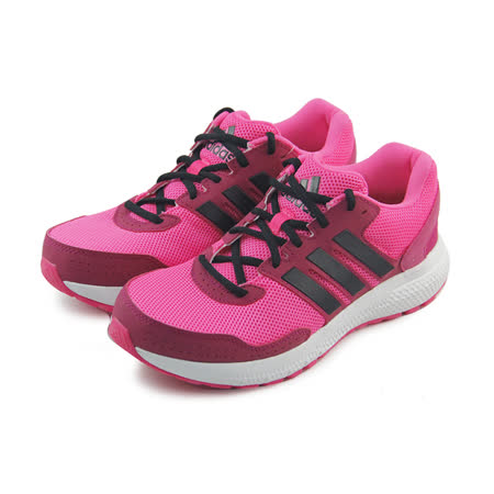 (女)ADIDAS OZWEEGO BOUNCE CUSHION W 慢跑鞋 螢光桃紅/黑-AF6364