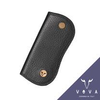 VOVA 當代系列荔枝紋單鎖包(黑色)VA102W006BK