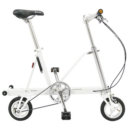 【CarryMe】 STD 8吋單速折疊小輪車 珍珠白