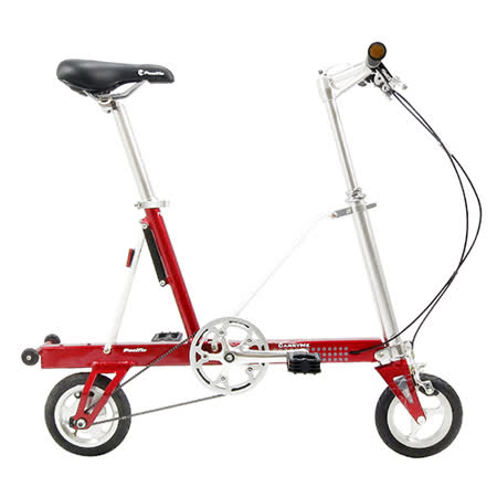 【CarryMe】 STD 8吋單速折疊小輪車 莓果紅