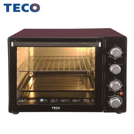 【TECO東元】35L雙溫控/發酵烤箱 XYFYB3521
