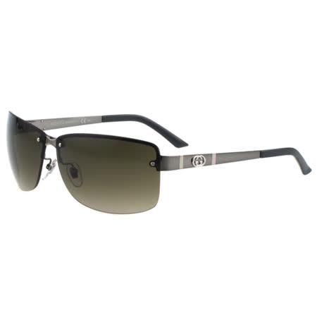 GUCCI-時尚太陽眼鏡(槍色)