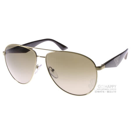 PRADA太陽眼鏡 百搭飛官款(金-棕) #SPR53Q ZVN1X1