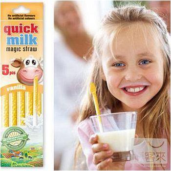 牛奶呢? Quick Milk 香草吸管5入 30g