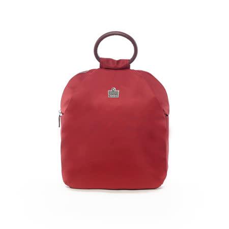 Admiral 知性設計感手提後背包-紅
